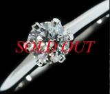 Nhẫn kim cương TIFFANY&Co 0.39ct size 8