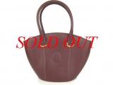 Túi Cartier đeo vai màu đỏ đậm