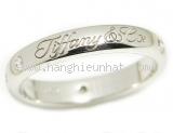 Nhẫn Tiffany&Co PT950 logo 3P
