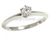 Nhẫn Tiffany&Co PT950 kim cuowg 0.24ct