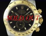 Đồng hồ Rolex day-tona 116235 mặt đen