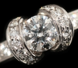 Nhẫn kim cương Tiffany&Co 0.44ct size 7.5