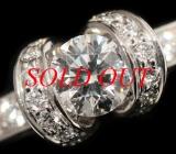 Nhẫn kim cương Tiffany&Co 0.41ct size 11