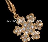 Mặt dây chuyền Bvlgari kim cương snowflake