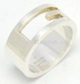 Nhẫn bạc Gucci size 15