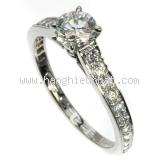 Nhẫn Cartier kim cương size 49