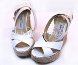 MS2704 Sandal Jimmy Choo size 37 màu trắng