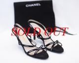 MS2634 Sandal Chanel size 37 màu đen