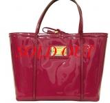 NEW Túi Dolce& Gabbana da bóng hồng