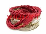 Khăn hermes silk màu đỏ