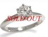 Nhẫn kim cương Tiffany&Co 0.58ct size 11.5