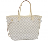 NEW Túi louis vuitton damier neverfull MM