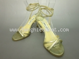 Ms3179 Sandal Jimmy choo size 36 vàng SUMMER SALE