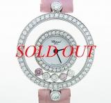 Đồng hồ Chopard happy diamond hồng