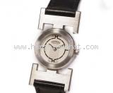 Đồng hồ Hermes dây da đen