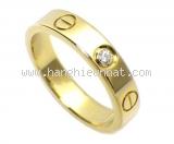 Nhẫn Cartier mini love ring kim cương