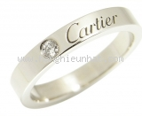 Nhẫn Cartier PT950 1P diamond #48
