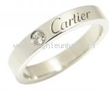 Nhẫn Cartier PT950 1P diamond #48