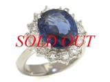 Nhẫn kim cương  Pt900 1.28ct
