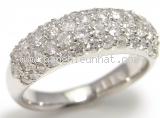 Nhẫn kim cương Pt900 1.50ct