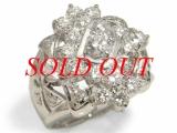 Nhẫn kim cương Pt900 10.5ct