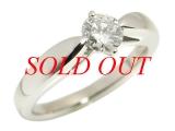 Nhẫn kim cương Pt900 0.412ct
