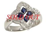 Nhẫn kim cương K18WG 0.20ct