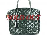 Túi Louis Vuitton Lockit M40600 màu xanh