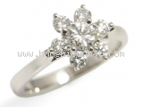 Nhẫn kim cương Tiffany&Co size 8