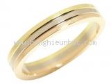 Nhẫn Cartier Trinity 3 màu vàng K18YG