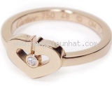 Nhẫn Cartier C heart size 48 PG