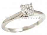 Nhẫn kim cương Cartier Pt950 0.40ct màu bạc