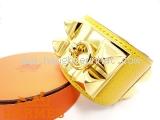 Vòng đeo tay Hermes màu vàng