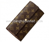 NEW Ví Louis Vuitton monogram sarah