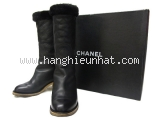 Boot Chanel size 35 1/2 đen