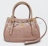Túi xách Pranda của nữ BN1867 màu hồng be