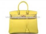 Túi xách Hermes Birkin Epson 35 vàng