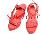 Sandals Hermes hồng