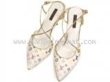Giày Louis Vuitton size 36 1/2 màu trắng