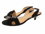Sandal Hermes size 36 1/2 đen