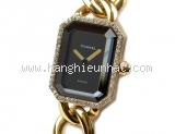 Đồng hồ Chanel classic viền kim cương