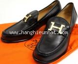 Giày Hermes của nữ size 36  màu đen