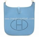 Túi xách Hermes Evelyn Gm xanh