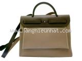 Túi xách Hermes của nữ màu xanh rêu
