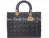 Túi Dior lady dior đen cỡ lớn đen