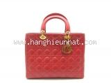 Túi xách Christian Dior Lady màu đỏ