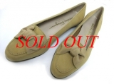 MS3485 S Giày Ferragamo size 5 1/2 màu be vàng
