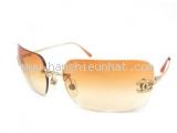 MS3488 Kính Chanel đính đá màu cam