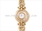 Đồng hồ Chopard K18YG kim cương của nữ