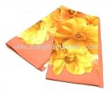 Khăn lụa Ferragamo màu hồng vàng